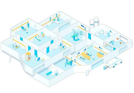 Sistema de gases medicinales